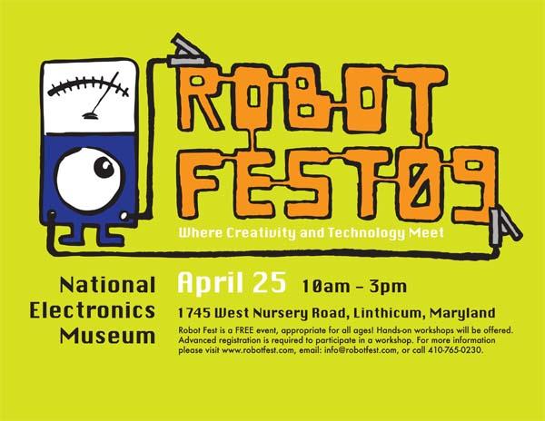 Robot Fest 2009, April 25, Linthicum, MD