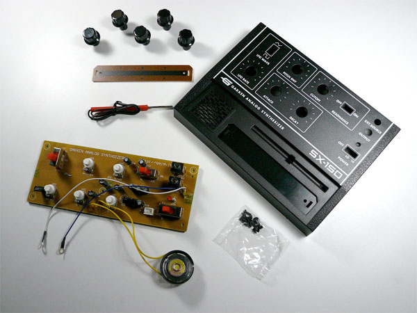 In the Maker Shed: Gakken SX-150 Analog Synthesizer Kit
