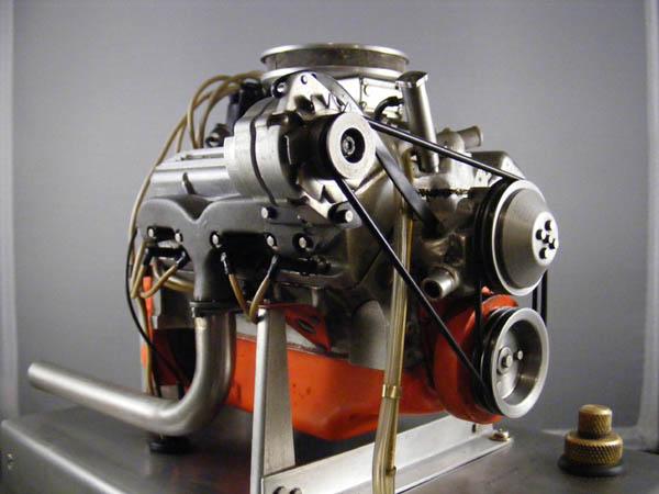 Working Chevy V8 model motor