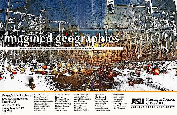 Phoenix Art Exhibition: Imagined Geographies