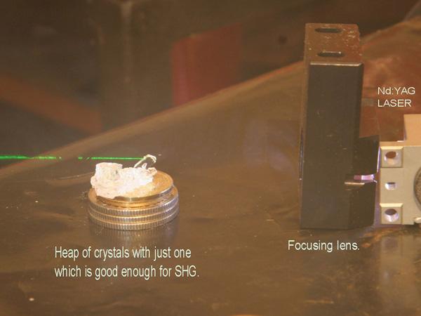 Homegrown laser crystals