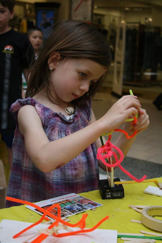 Mini Maker Faire at Hillsdale Mall