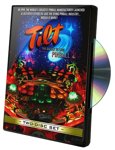 In the Maker Shed: TILT, The Battle to Save Pinball DVD on sale