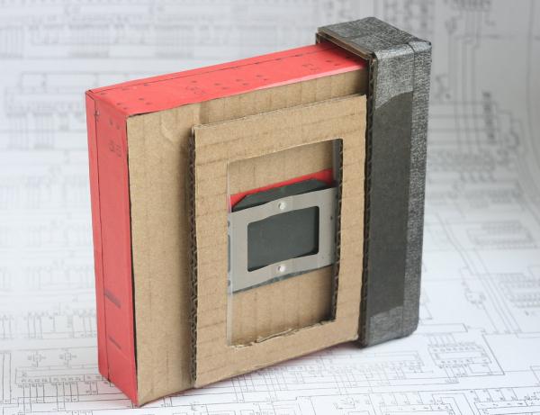 Wide angle pinhole camera