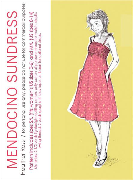 Heather Ross' Mendicino Sundress Pattern