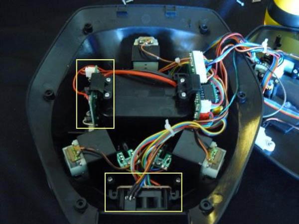 Adding head-mounted LEDs to Rovio