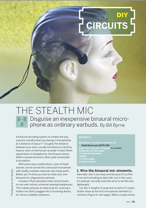 Weekend Project: The Stealth Mic (PDF)