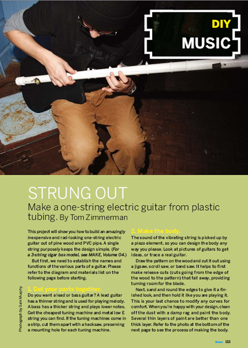 Weekend Project: Strung Out (PDF)