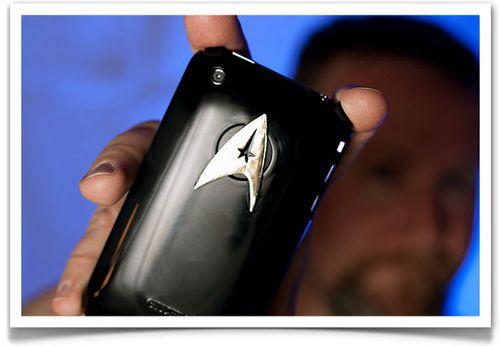 Star Trek iPhone case mod