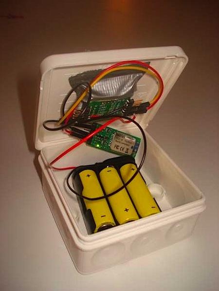 Weatherproof Bluetooth RFID reader