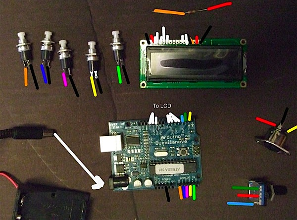 MIDI step sequencer with Arduino