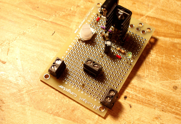 DIY 12-volt adjustable power supply