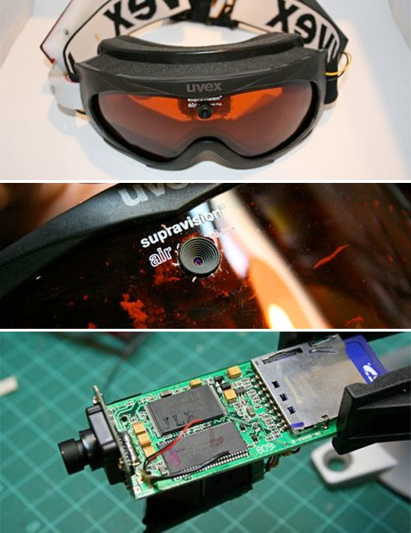 How-To: Ski-goggle camera mod