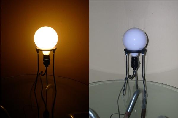 Ultraminimalist lab-stand lamp