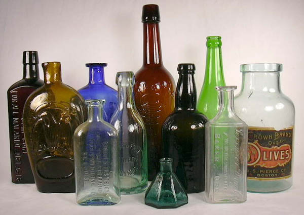 Antique bottle collecting