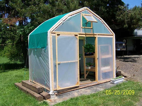 How-To: Greenhouse from old carport