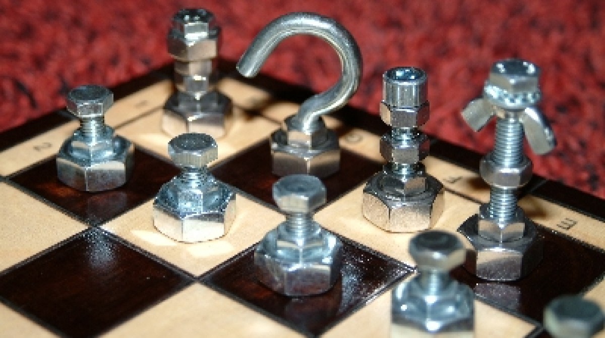 projects ideas metal chess pieces. Article Featured Image Hardware Chess Sets  Make