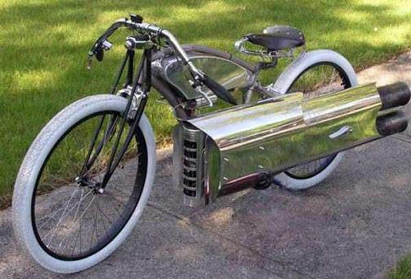 Pulse-jet bike