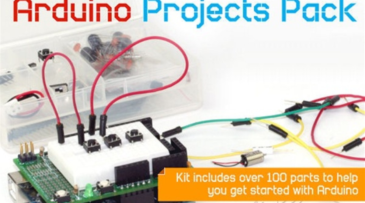 In the Maker Shed: Arduino Projects Pack | Make:
