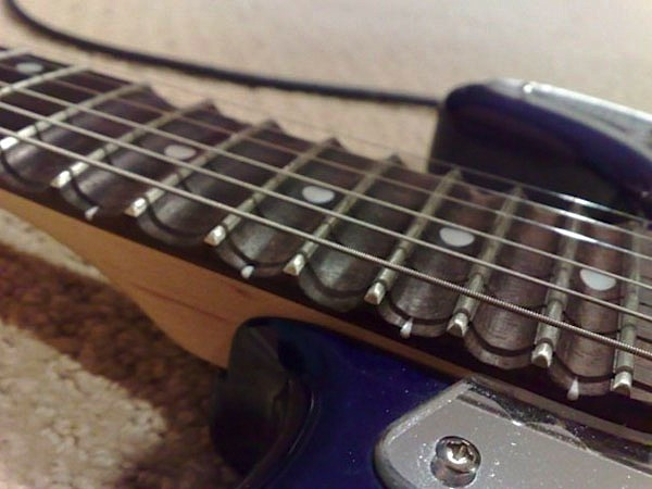 How-To: Scalloped guitar frets