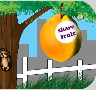 Share the fruit of your yard