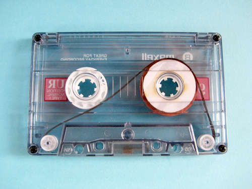 How-To: Make an audio cassette tape loop