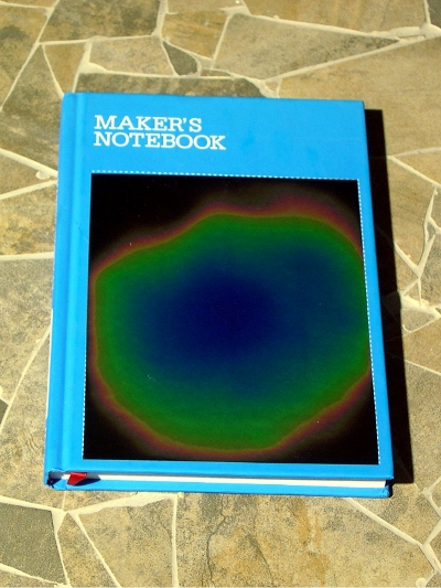 Make:  Projects – Thermochromic Maker's Notebook