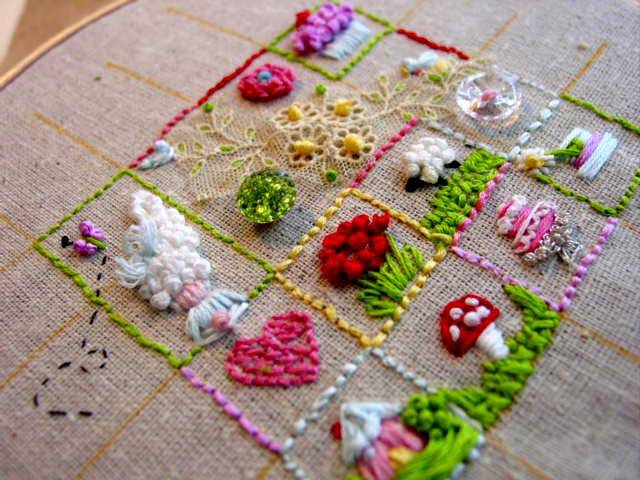 Amy Powers' Sweet Embroidery Sampler
