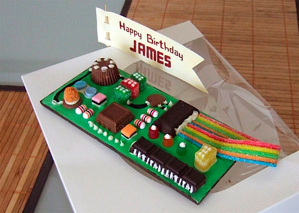 Candy PCB most likely ROHS-compliant