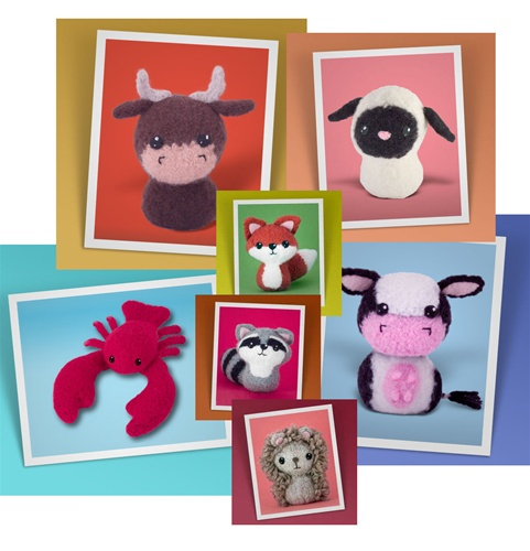 In the Maker Shed: KnitFelt Animals