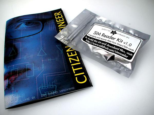 Citizen Engineer zine/comic/kit