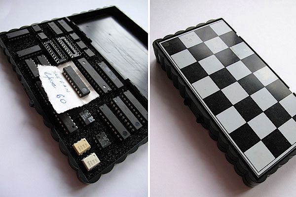 IC wallet from chess-case