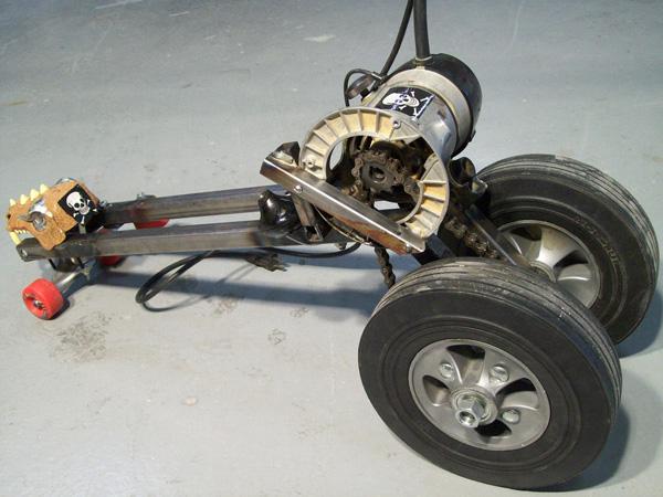 Hack Junk's Seattle Power Tool Race entry