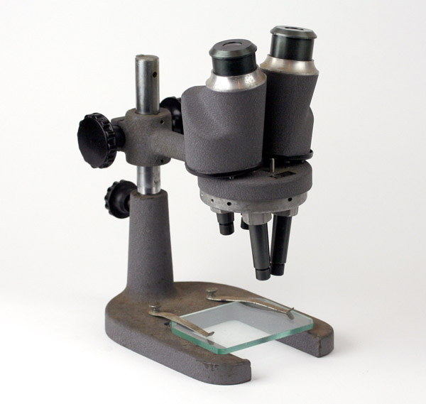 Surface mount soldering tip: Boom-style microscopes