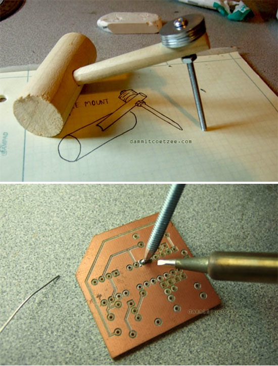 How-To: Pointer weight for SMD soldering