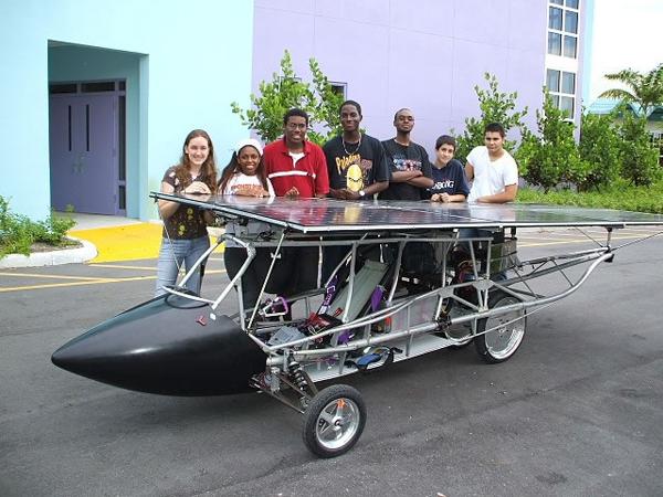 Solar racing in Texas – go Knights!