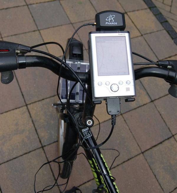 Flashback: Solar-powered bike GPS