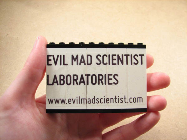 How-To: Make Lego business cards