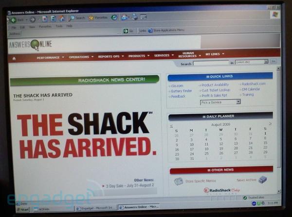 "RadioShack soon to be called ""The Shack"" ?"