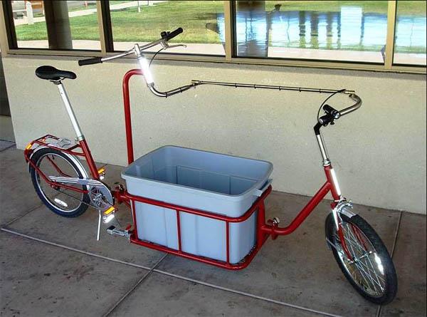 Grocery getter bike project