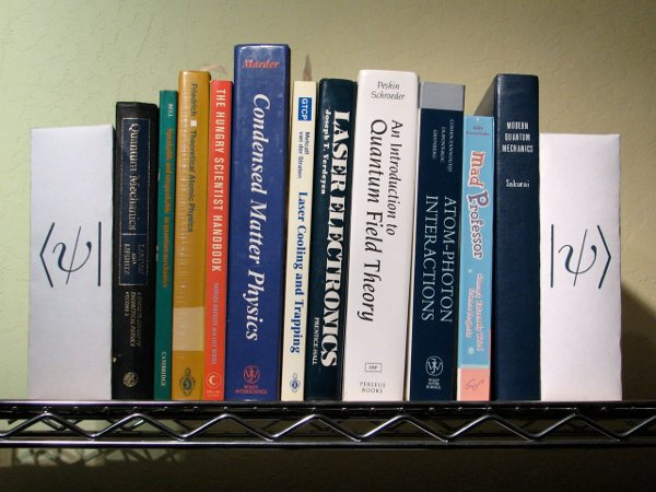 Bookends for geeks