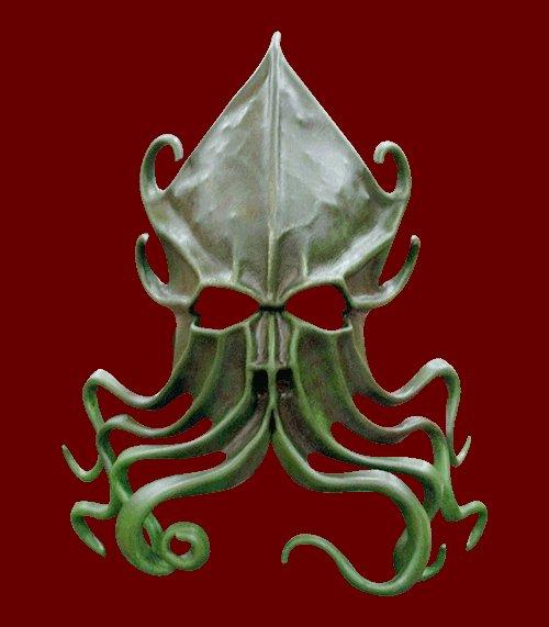 Handmade Cthulhu mask