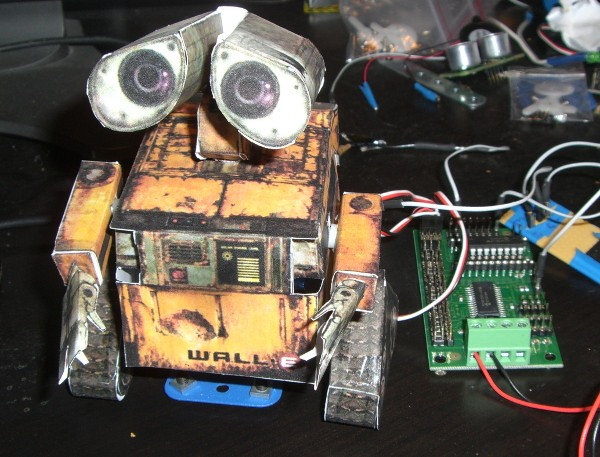 Mail-E robot checks your mail for you