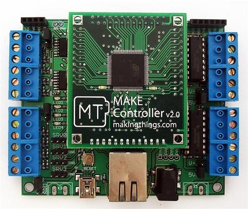 Back in the Maker Shed: MAKE Controller Kit v2.0