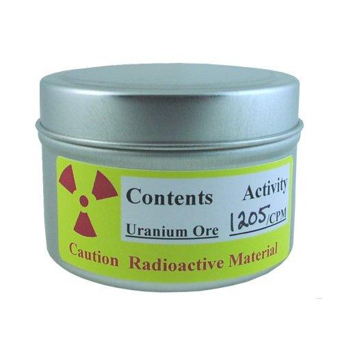 Uranium ore for sale on Amazon.com