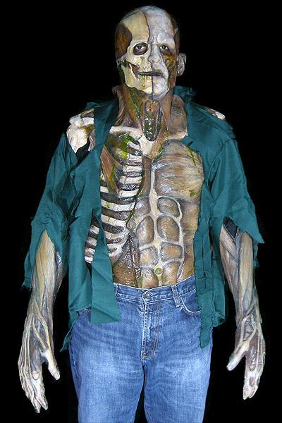 Anatomy suit one-piece zombie costume