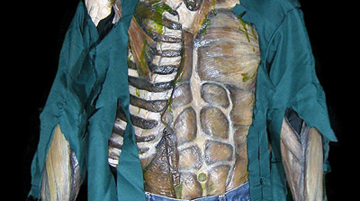 Anatomy suit one-piece zombie costume | Make: