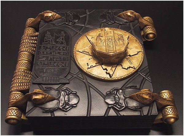 """The Mummy's """"Book of The Dead"""" prop"""