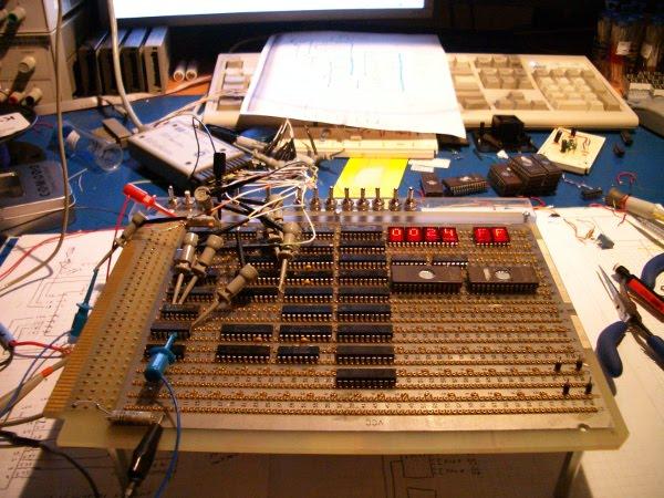 Building a CPU from scratch