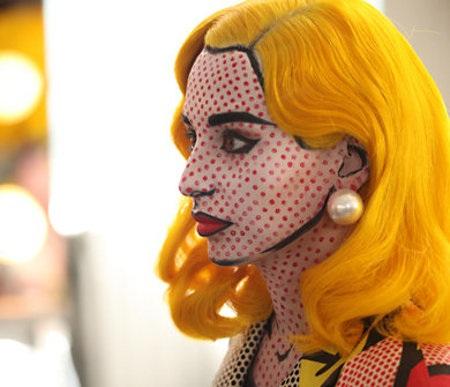Comic book (makeup) costume